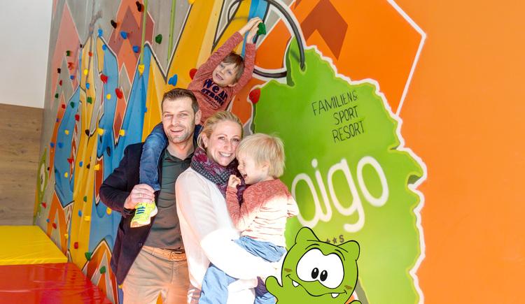 Wellnessurlaub in Verbindung mit einem Familienurlaub im 5 Kronen familotel AIGO im Böhmerwald.