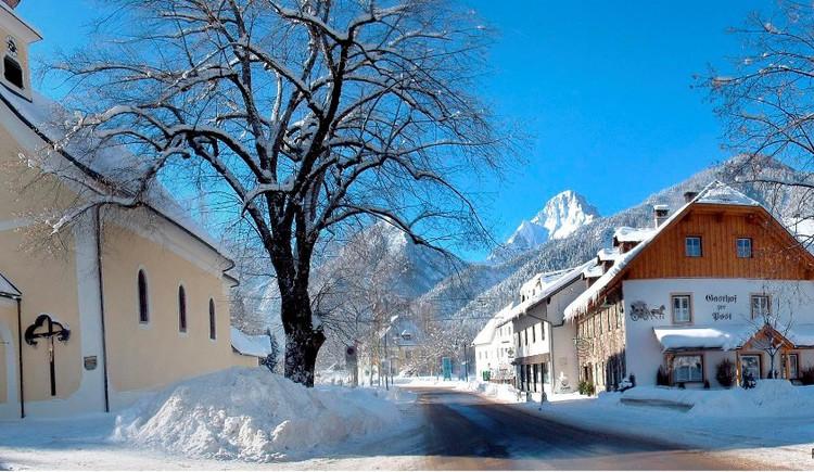 Winterort Hinterstoder (© Heinz Schachner)