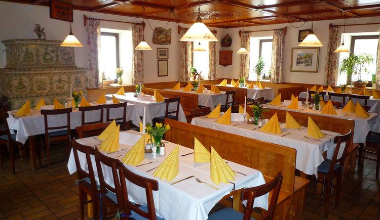 Gaststube im Gasthof zum Mitterhofer in Waldzell