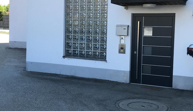 Eingang Polizeiinspektion Neukirchen a.W.