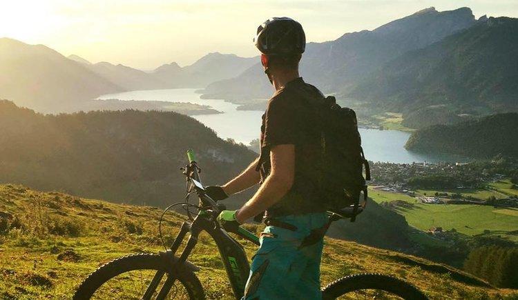 Sportcamp Raudaschl Mountainbiker. (© Sportcamp Raudaschl Mirja Geh)