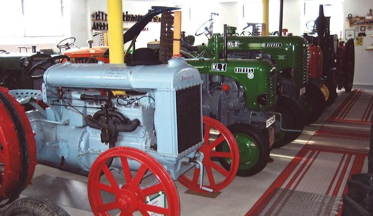Traktormuseum. (© Gemeinde Dorf an der Pram)