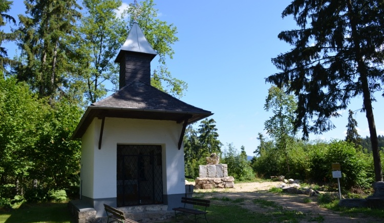 Auf diesem Weg kommen Sie zur Kalvarienbergkapelle, die Sie zum Verweilen einlädt.