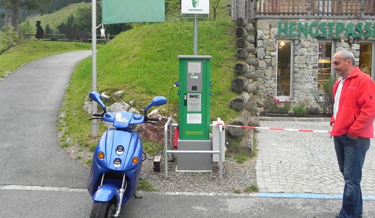 Stromtankstelle Rosenau am Hengstpass (© Energieautarke Region Pyhrn-Priel)