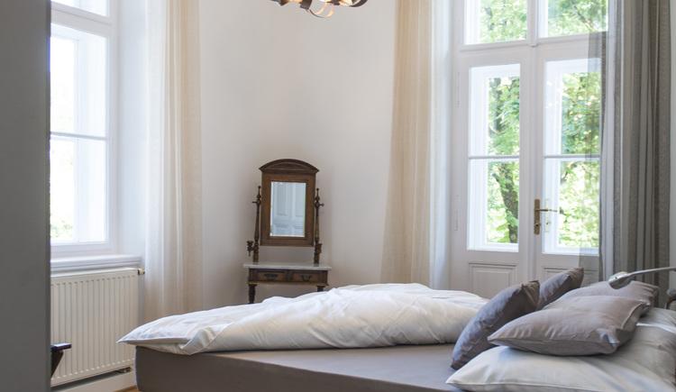 Schlafzimmer Refugium (© Schodterer)