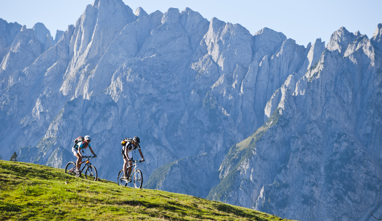 in the holiday region you will find a well-developed and varied mountain bike offer.