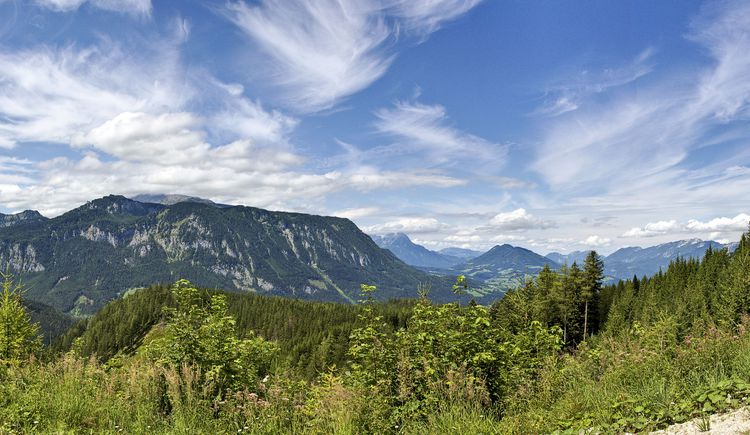 Gebirgspanorama vom Höhenweg (© TVB Pyhrn-Priel/Sulzbacher)