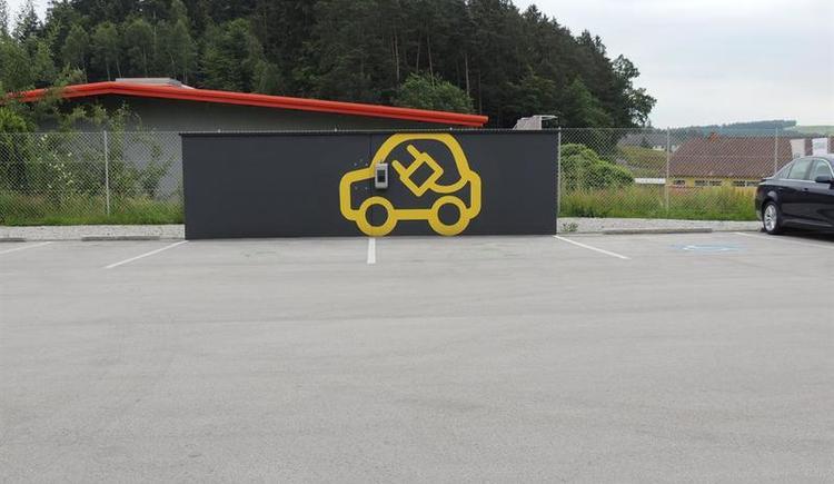 E-Tankstelle beim ÖAMTC Rohrbach-Berg (© Ferienregion Böhmerwald)