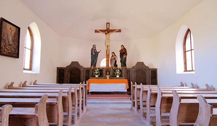 Kalvarienbergkapelle Neukrichen Innen