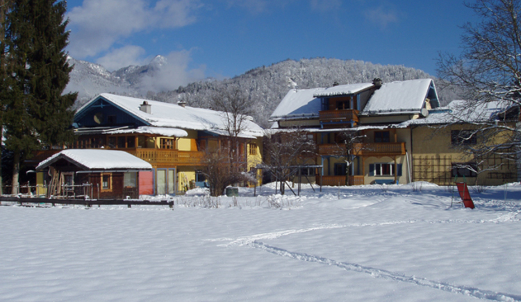 Appartementhaus Uta Girbl in Strobl im Winter