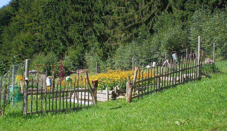 Hausgarten auf der Kräuteralm (© Kräuteralm Klaffer a. H.)