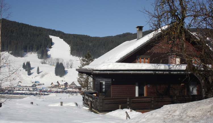 the house is located in the breathtaking Gosau Valley