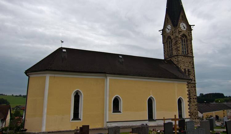 Kirche in Waldkirchen am Wesen (© WGD Donau Oberösterreich Tourismus GmbH/Kranzmayr)