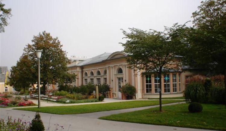 Gästezentrum Außenansicht Seiteneingang.