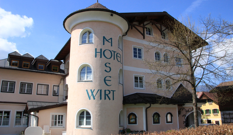 The Gasthof Moserwirt is the ideal starting point for hiking and cycling tours. (© Moserwirt)
