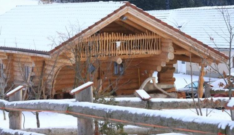 Ferienhaus im Winter (© Ferienparadies Hiaslbauer)