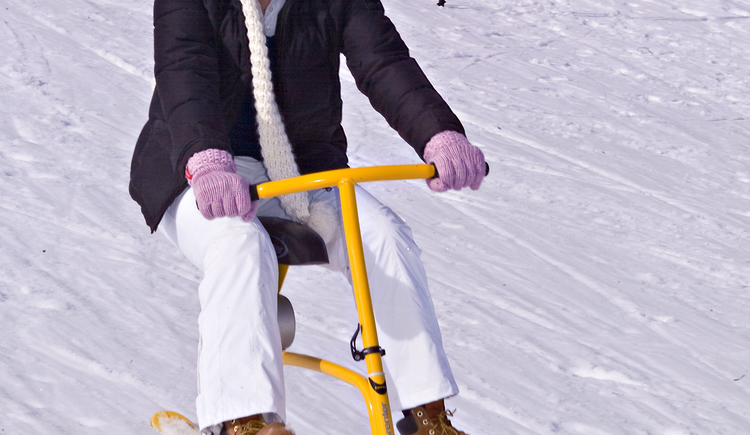 Snowbike. (© Rudi Vonach)