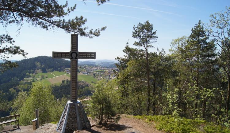 Gipfelkreuz Haiderberg (© Marktgemeinde St. Leonhard)