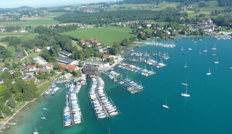 Bootbau Haitzinger aus der Luft (© Steinbichler Johann, Unterach)