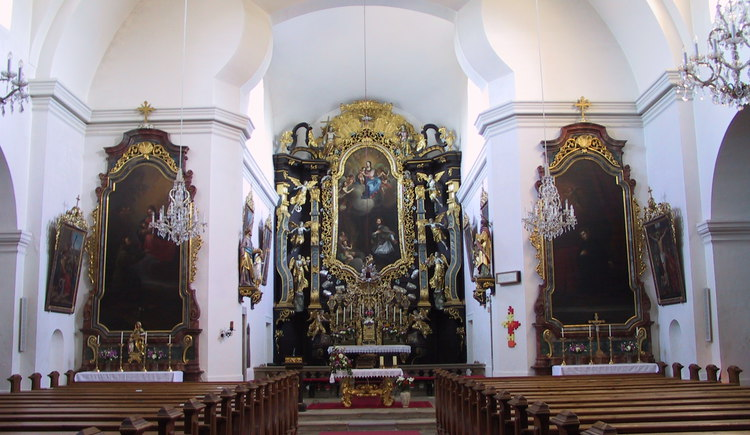 Kirche innen 4.JPG (© Gemeinde Sandl)