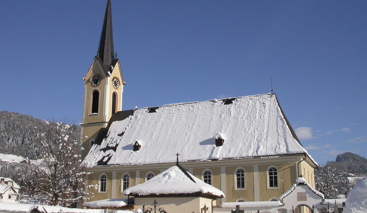The Evangelical Church in Bad Goisern is very centrally located