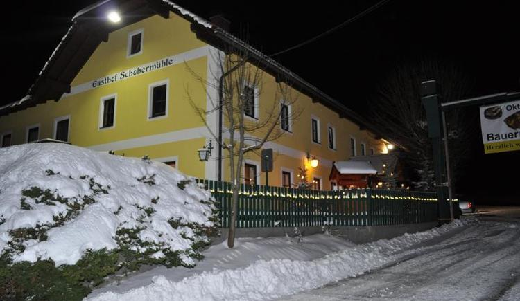 Gasthof Schobermühle Winter