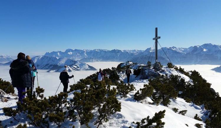 Gipfelkreuz Helmeskogel (© Tourismusbüro Ebensee)