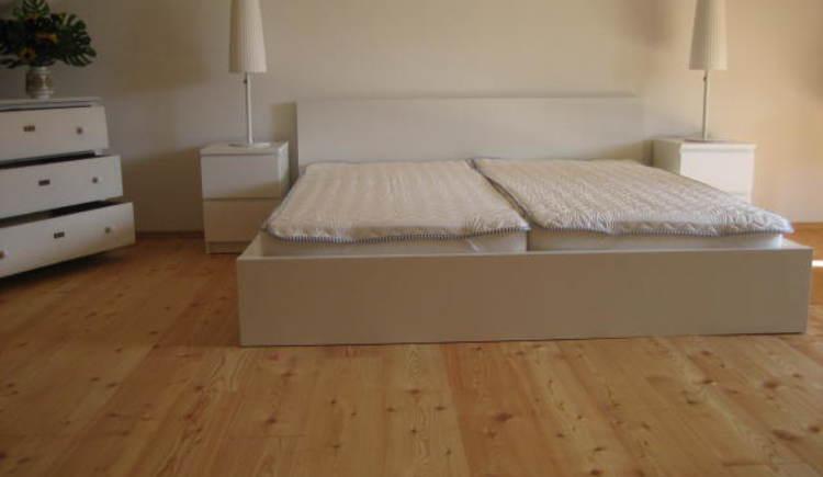 Fewo Tiesler Schlafzimmer oben