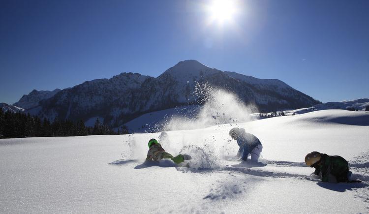 Skispaß auf der Postalm. (© Gerd Girbl)