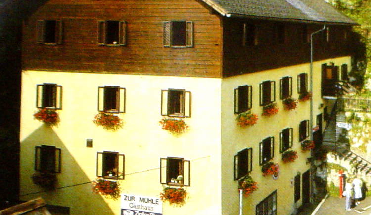 Gasthaus Mühle is located in the City Center of the World Heritage Town Hallstatt