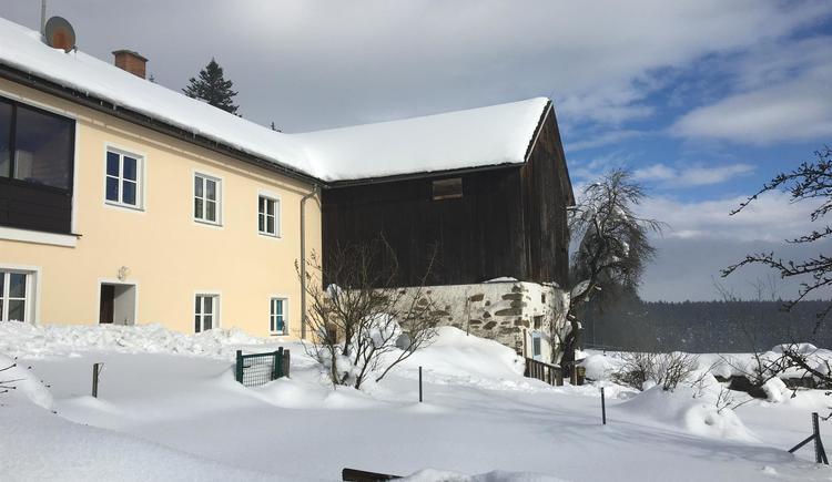 Haus im Winter/2