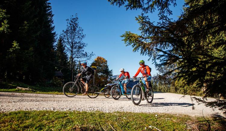 Auch als Familienrunde ist die Weißenbachrunde ein beliebtes Ziel. (© © bikeboard.at Erwin Haiden)