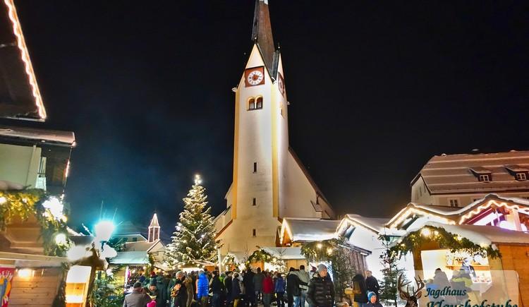 Weihnachtsmarkt im Nachbarort Abtenau. (© Jagdhaus Klaushofstube)