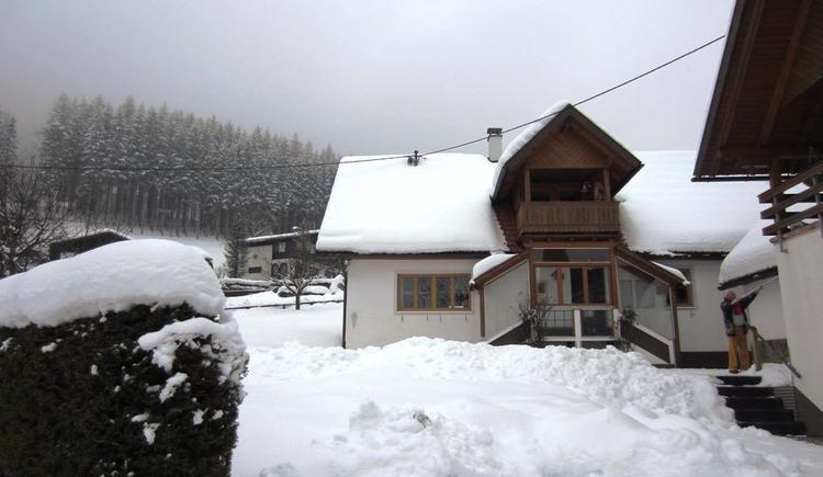 Hausansicht Winter (© Ilsemann)