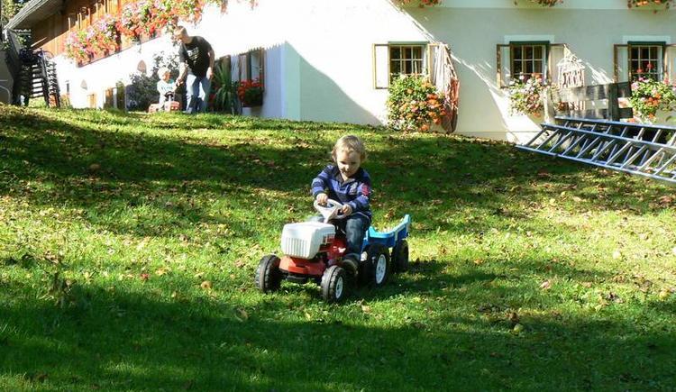 Traktorhausfahrt
