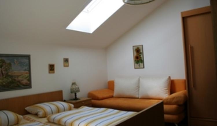 Grünes Zimmer Sitzecke