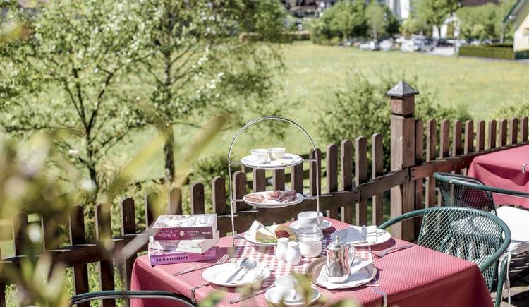 Aussenbereich Hotel Garni Sonnleitn (© Hotel Garni Sonnleitn)