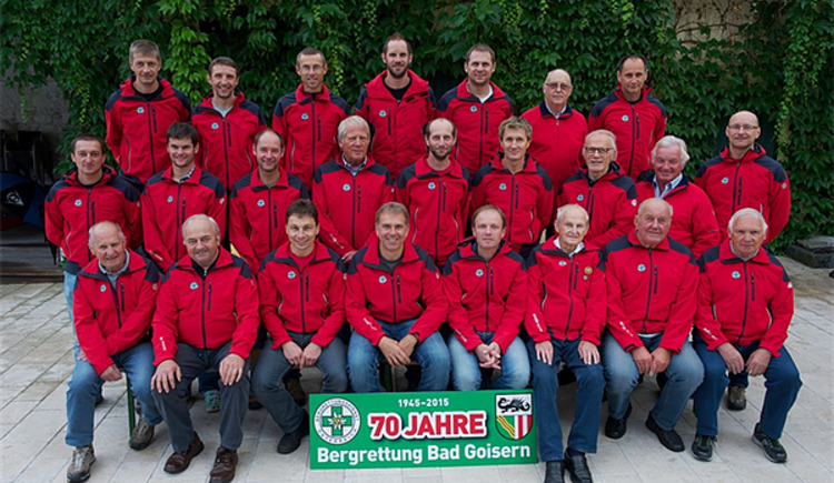 The mountain rescue Bad Goisern has numerous committed and qualified members