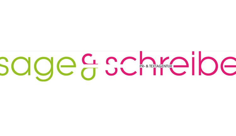 Logo: sage&schreibe