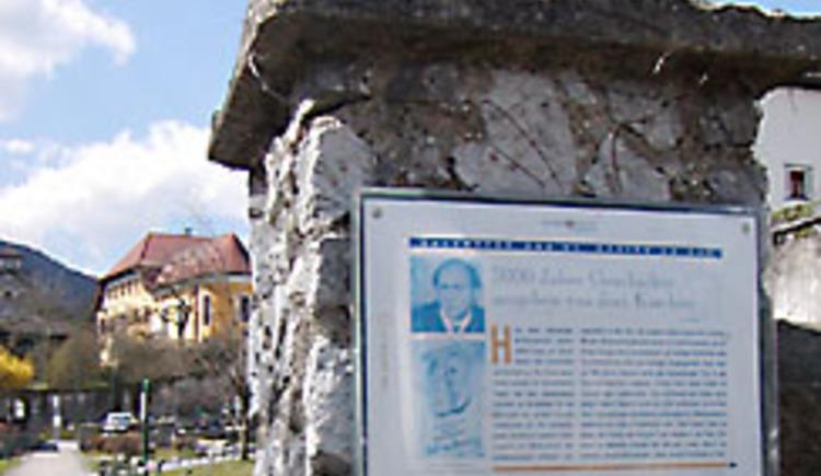 Kulturweg mit Texten von Alfred Komarek.