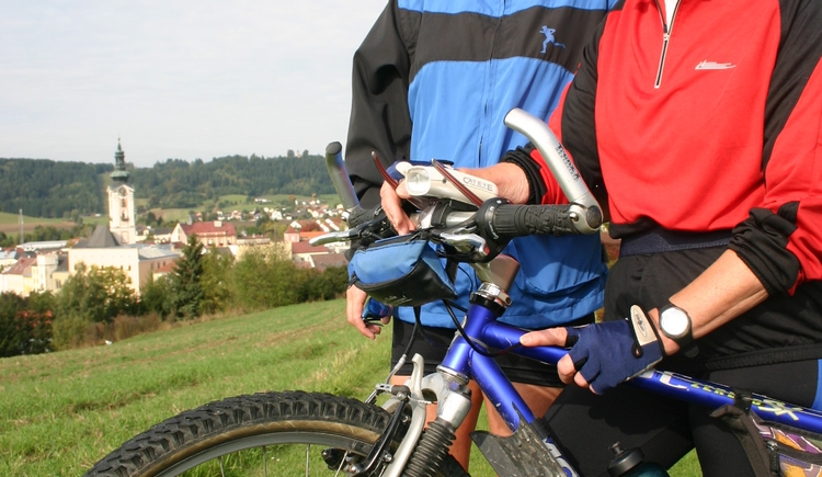 Radfahren in Freistadt (© MV Kernland)