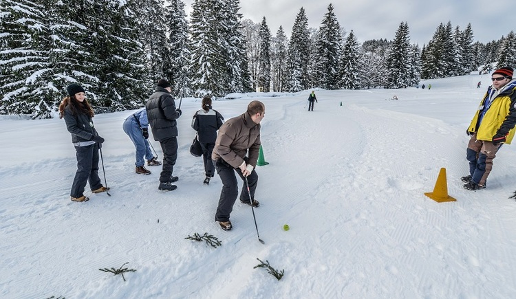 Snow-Golf. (© Rudi Vonach)