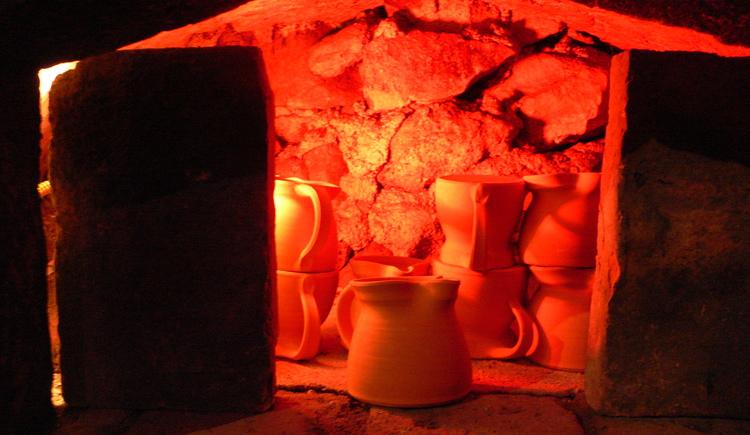 Brennvorgang (© Verbund OÖ. Museen)