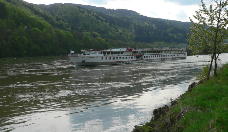 Der Donauradweg (© TV Neustift)