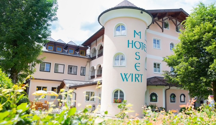 The Hotel Moserwirt is located in Kirchengasse in the center of Bad Goisern