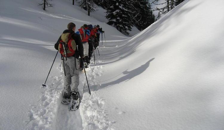 Schneeschuhwanderung in Faistenau (© Berg&Fitness - Christian Fuchsberger)