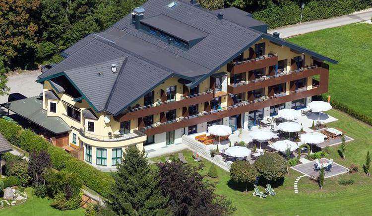 Restaurant and hotel Aberseehof at Wolfgangsee