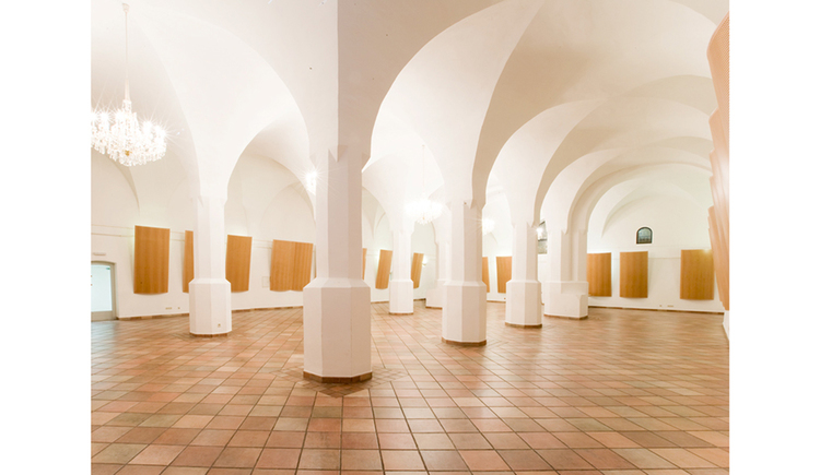 Hall with pillards