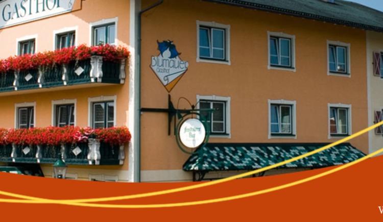Direkt am Marktplatz von Rainbach gelegen, ist der Gasthof Blumauer ein zentraler Treffpunkt für Liebhaber gutbürgerlicher Genussküche. (© Blumauer)