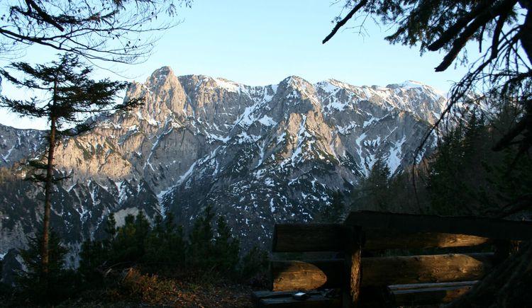 Bärenpfad vom Strobler-Weißenbach zum Goiserere-Weißenbach. (© WTG)